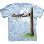 Bird Tree Adult Plus Size T-Shirt 43-1033130