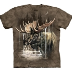 Moose Forest Adult Plus Size T-Shirt 43-1033660