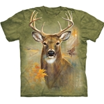 Buck Deer Adult Plus Size T-Shirt 43-1033860