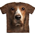 Welsh Springer Spaniel Face Adult 3X-Large T-Shirt 43-1034170