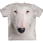 Bull Terrier Face Adult Plus Size T-Shirt 43-1035490