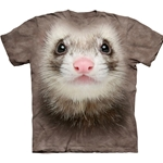Ferret Face Adult Plus Size T-Shirt