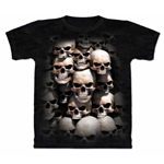 Skull Crypt Adult Plus Size T-Shirt