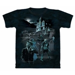 Zombies and Ghosts Adult Plus Size T-Shirt