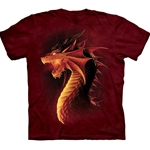 Red Dragon Adult Plus Size T-Shirt