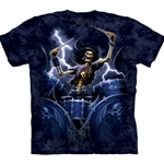 Death Drummer Adult Plus Size T-Shirt