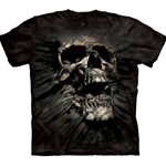 Breakthrough Skull Adult T-Shirt 43-1062470