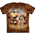 Find 15 Horses Youth's Tee Shirt