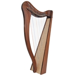 Roosebeck Heather Harp 22 Strings