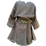Brown Medieval Linen Tunic