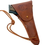 U.S. WWII Leather Hip Holster for M1911 .45 Brown Repro 55-80277