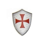 Miniature Knights Templar Shield by Marto 56-M5280