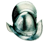 Engraved Spanish Round Morion Helmet by Marto