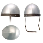 Medieval Soldier's Helmet 16G in Med and Large Sizes