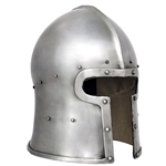 T Face Barbute Helmet 14 Gauge Med AB0335 Get Dressed For Battle