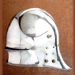 German Visored Sallet Helmet AH-3822-B