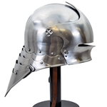 German Sallet Helm - 18 Gauge