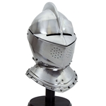 English Close Helm - 18 Gauge
