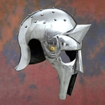 Gladiator Arena Helmet or Maximus Helmet in an IRON version