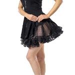 Lace Petticoat (Black) Adult  100-134045