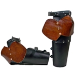Leather Half Arm Armor Leather Elbows BTS-2137