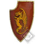 Latex Dragon Warrior Shield 27.5in FD004