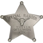 Special Ranger Western Badge Cattle OH3025
