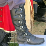 Strider Knee Boot with Buckles