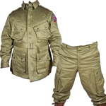 US WWII Paratrooper Pants and Jacket Reproduction USPARA-SET