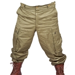 US WWII Paratrooper Reproduction Olive Drab Pants USPARAPANT
