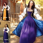 Robe du Soir Renaissance Inner Gown - SOLD SEPARATELY
