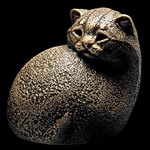 Tiger Kitten Windstone Edition Cat Sculptures
