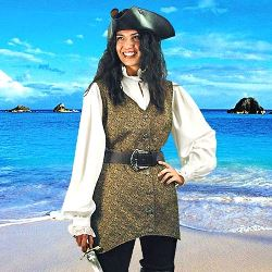 Mary Read Pirate Vest 101018
