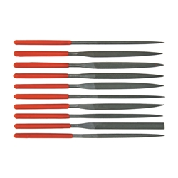 Steel X Needle Nose File Set 116-D2868