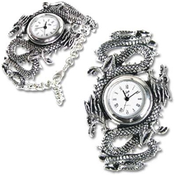 Imperial Dragon Watch Pewter Alchemy 17-AW16