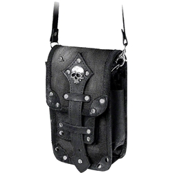 Empire Leather Black Aviator Pouch Alchemy LG60