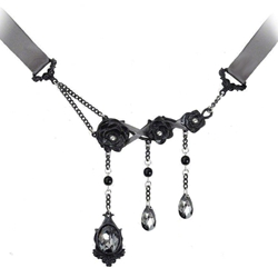 Garden of Dark Desires Necklace Pewter Alchemy P583