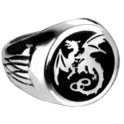 Wyverex Dragon Signet Ring 17-R154