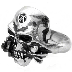 Demi Alchemist Ring Pewter Alchemy R16
