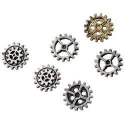 Small Gearwheel Buttons 17-S11