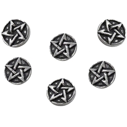 Pentagram Shirt Buttons 17-S6
