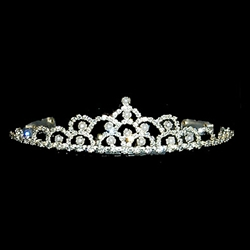 Pearl Mountain Crystal Tiara 172-10235