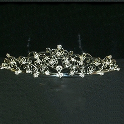 Fancy Wire Filigree Tiara 172-10266