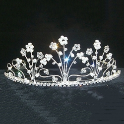 Pearl and Crystal Forrest Tiara 172-11675