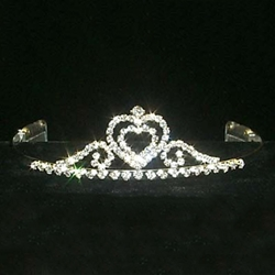 Paris Hearts Tiara 172-12040