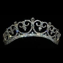 Sophisticated Queen Tiara