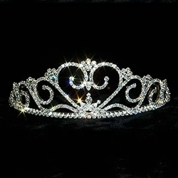 Rippling Heart Tiara 172-12548