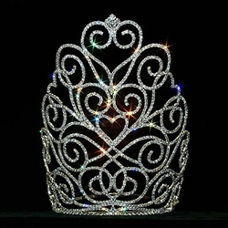 Victorian Heart Crown - Large