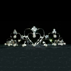 Wire Hearts Tiara 172-12571
