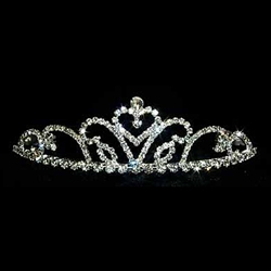 Settle Heart Tiara